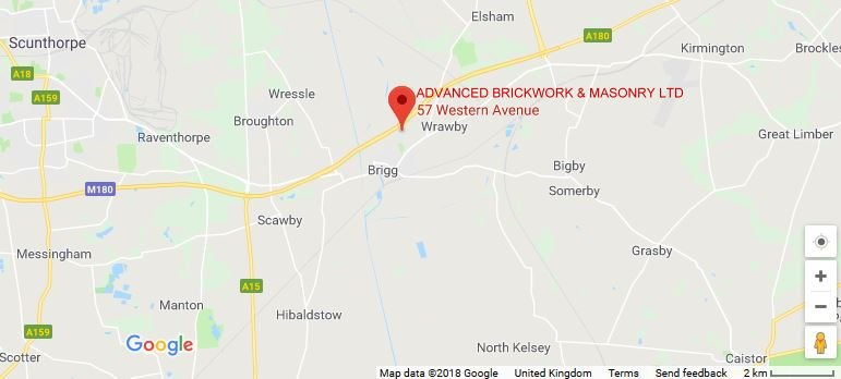 Advanced Brickwork & Masonry Ltd. on map